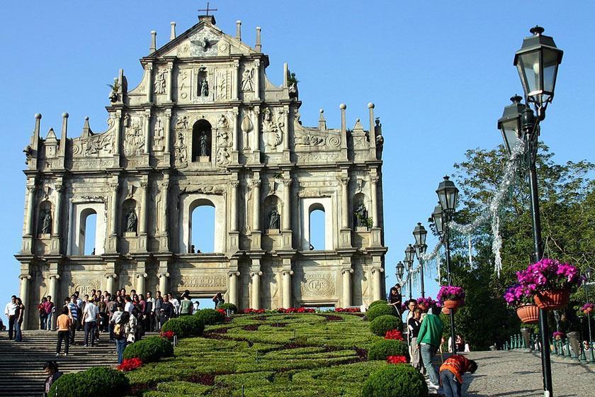 آشنایی با بنای کلیسای کاتولیک ماکائو در تور چین