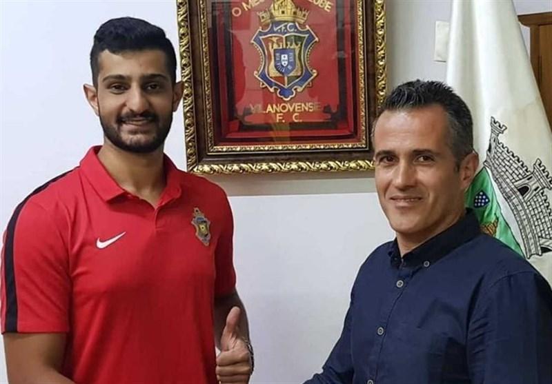 دروازه بان ایرانی تیم ویلانوونسه پرتغال: می خواهم در جام جهانی 2022 از اعتبار تیم ملی ایران دفاع کنم