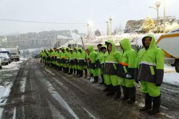 آمادگی 162 سایت برف روبی و 3سایت پشتیبان مجهز به تجهیزات لازم