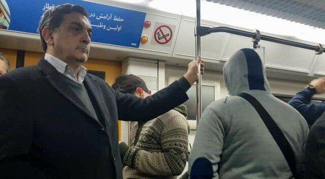 حناچی با مترو و تاکسی سر کار رفت