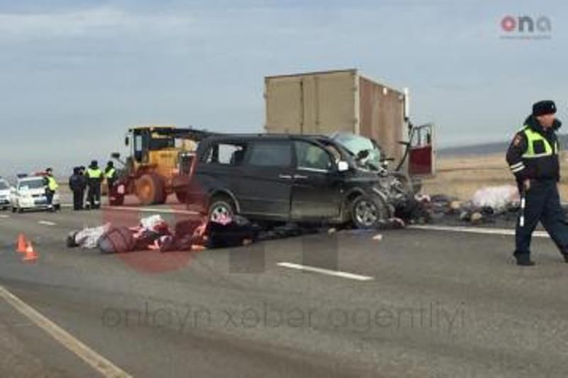 تصادف مرگبار جان شش شهروند جمهوری آذربایجان را گرفت