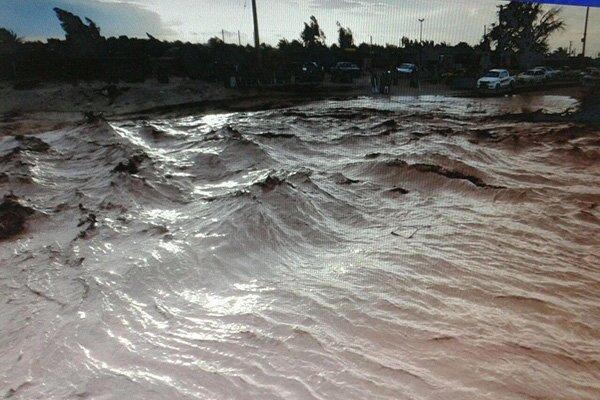 وقوع سیلاب در بعضی روستاهای مانه و سملقان