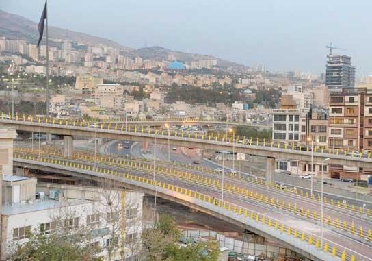 کاهش ترافیک در محله های ازگل و ولنجک