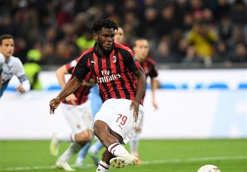میلان در نبرد کسب سهمیه لیگ قهرمانان اروپا با پیروزی آشتی کرد