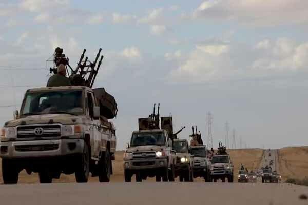 آمریکا و انگلیس خواهان توقف جنگ در لیبی شدند