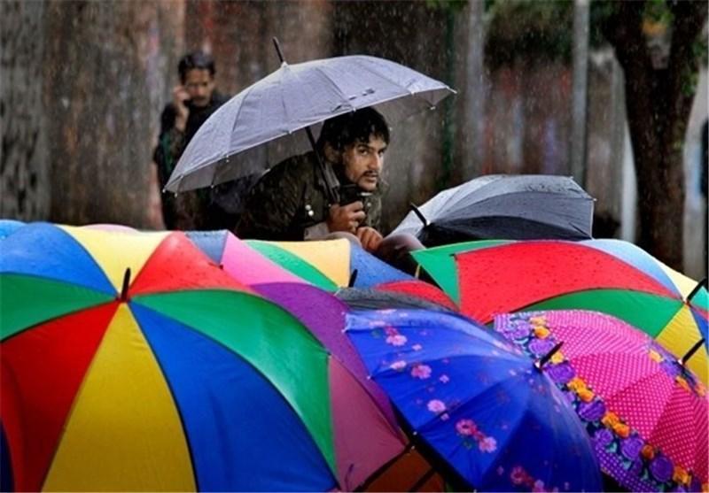 احتمال افزایش باران های موسمی در مناطق مختلف پاکستان