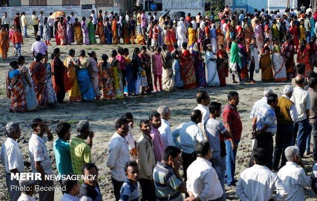 انتخابات پارلمانی در هند به پایان رسید
