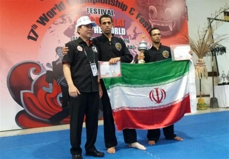 مدال آوری نمایندگان ایران در مسابقات جهانی پنچاک سیلات