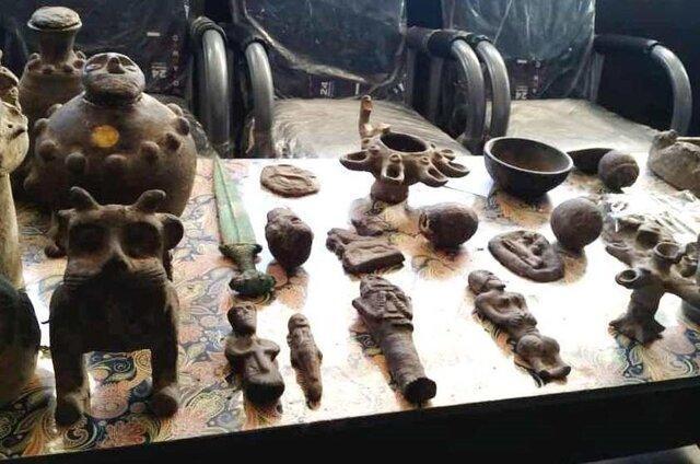 عتیقه های هزار ساله در گنبد کشف شد
