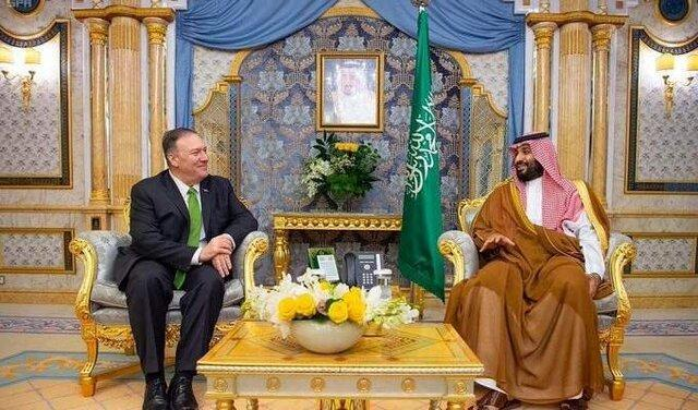 پمپئو: آمریکا از امنیت و ثبات عربستان حمایت می نماید