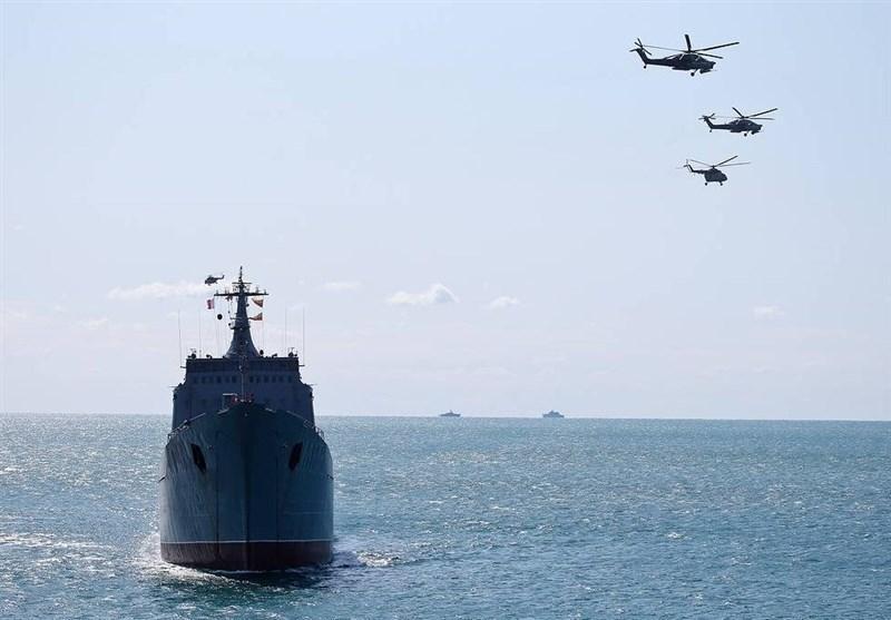 برگزاری رزمایش بزرگ دریایی در سواحل کِریمه
