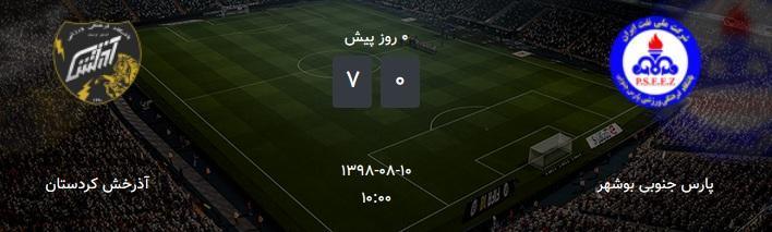 تیم فوتبال بانوان بوشهر در حسرت دریافت امتیاز
