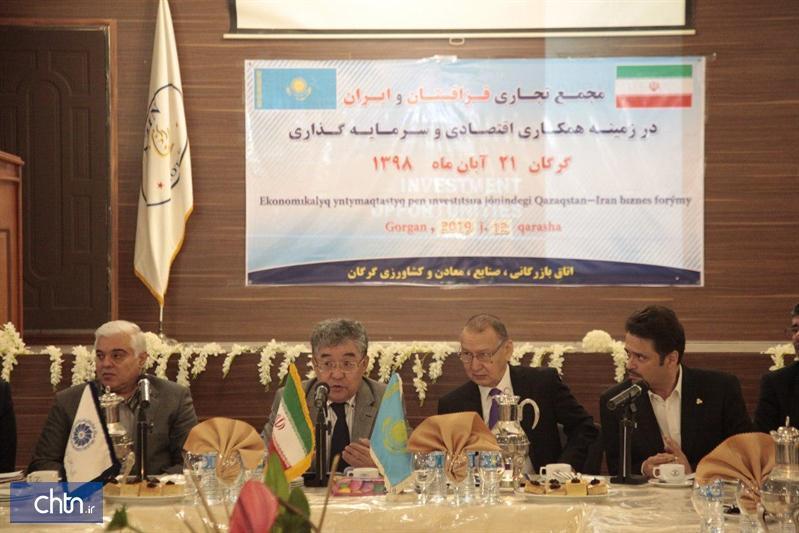فعالان گردشگری باید از روابط محبت آمیز ایران و قزاقستان بهره ببرند