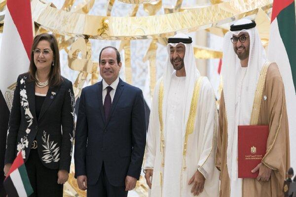 امضای قرار داد 20 میلیارد دلاری بین مصر و امارات
