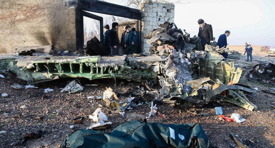 شوک بزرگ ، لزوم برخورد با قاصرین و پنهان کاران در فاجعه سقوط هواپیما