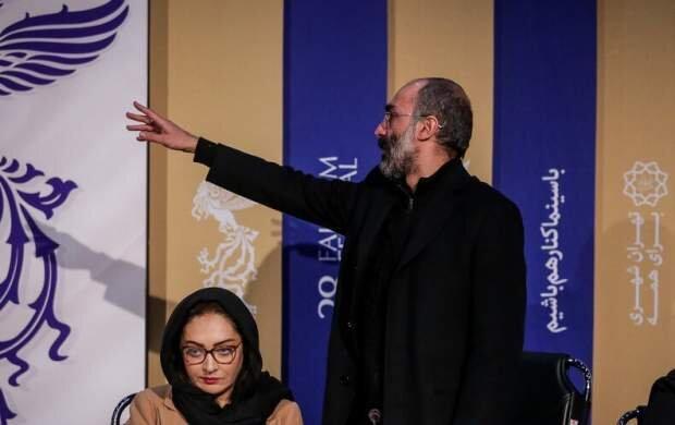 واکنش تند هادی حجازی فر به یک خبرنگار منتقد