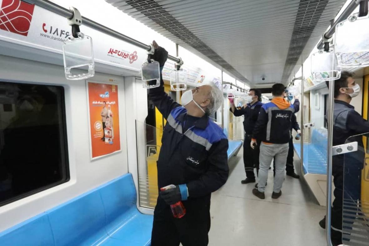 ضدعفونی روزانه خطوط مترو و اتوبوسرانی ، دفع ایمن پسماند بیماران کرونا
