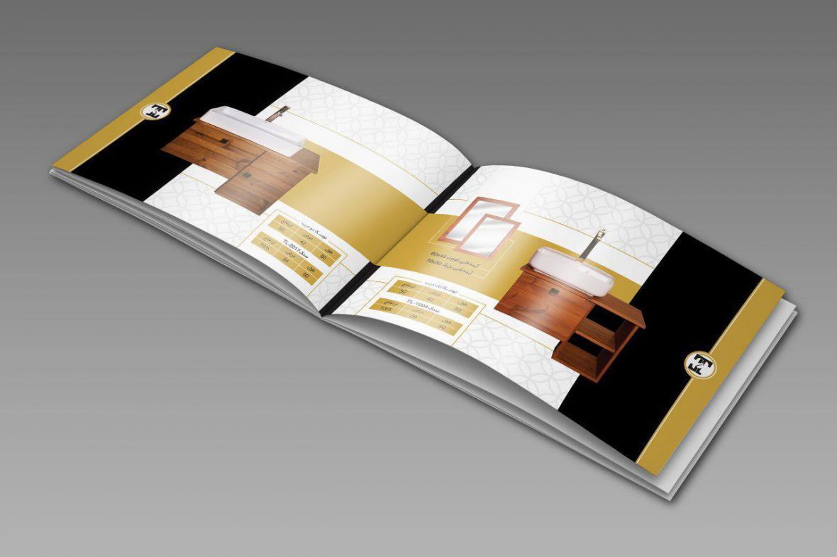 قراردادن اطلاعات در زمان طراحی کاتالوگ