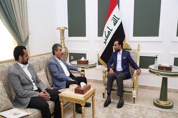 محمد الحلبوسی با سفیر کویت در عراق دیدار کرد