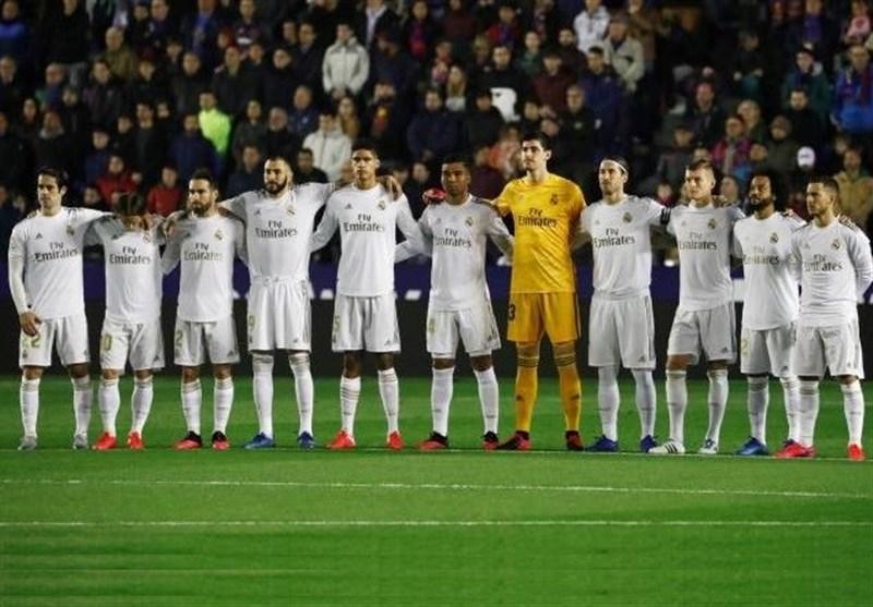 با اعلام منفی بودن تست کرونای تمام بازیکنان رئال مادرید؛ تمرینات سفیدپوشان دوشنبه آغاز می شود