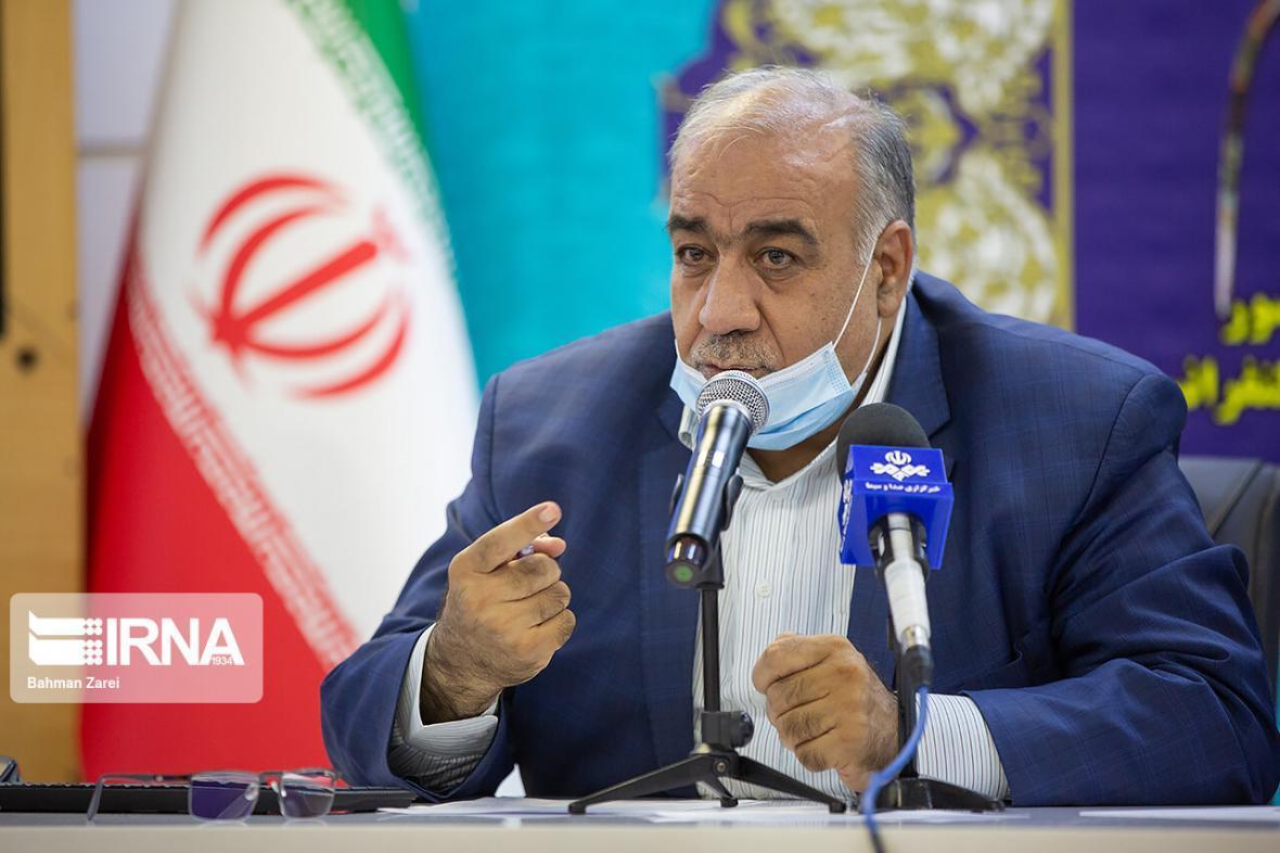 خبرنگاران استاندار: مشکل آب شهر کرمانشاه تا ماه آینده باید برطرف شود