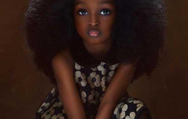 چهره شگفت انگیز زیباترین کودک دنیا!، عکس