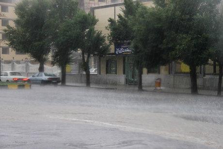 پیش بینی وقوع رگبار باران در بعضی مناطق کشور