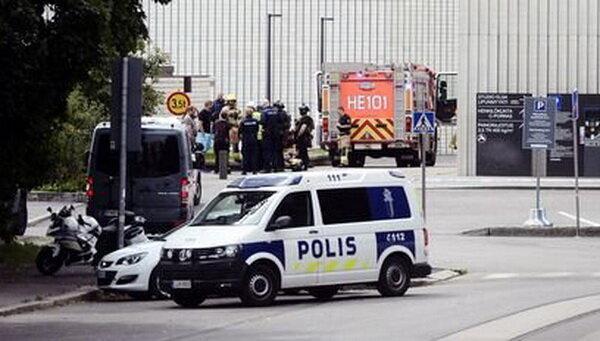 انفجار در تئاتر پایتخت فنلاند