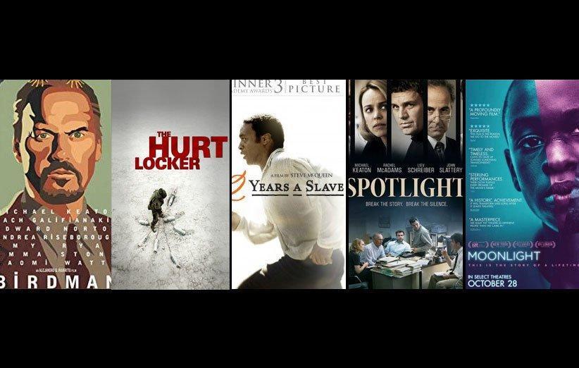 10 فیلم برنده اسکار دهه گذشته از بهترین تا بدترین