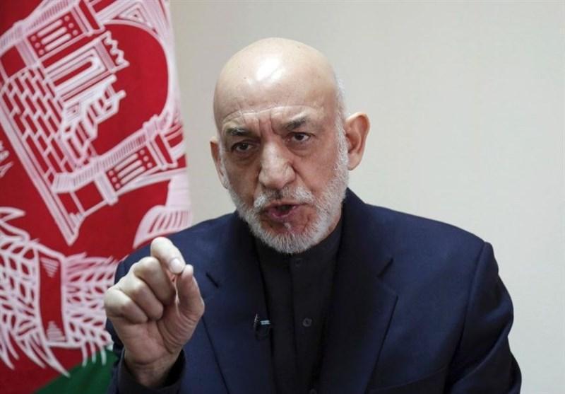 کرزی: بحران افغانستان از سوی خارجی ها تحمیل شده است