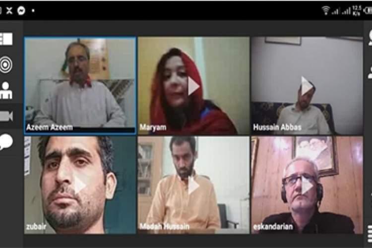نخستین دوره آموزش آنلاین زبان فارسی در پیشاور شروع شد