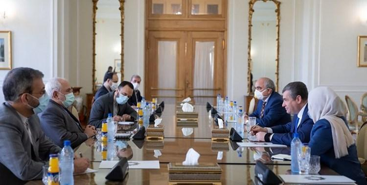 توئیت های ظریف پس از مصاحبه با مقامات ارشد روسیه و امارات