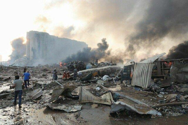 شروع بازپرسی از مسؤولان امنیتی بندر بیروت