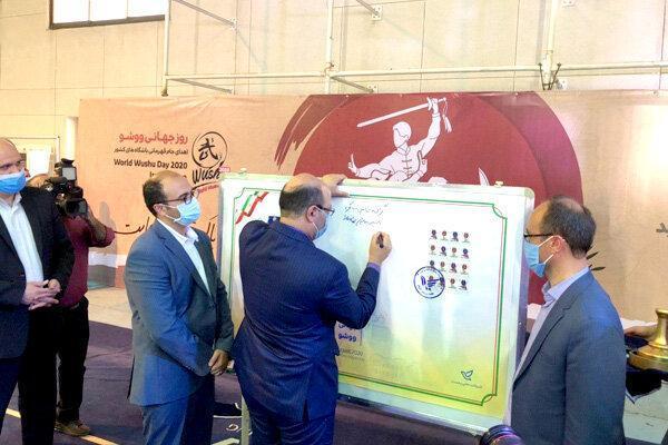 مراسم روز جهانی ووشو با حضور معاون وزیر ورزش برگزار گردید