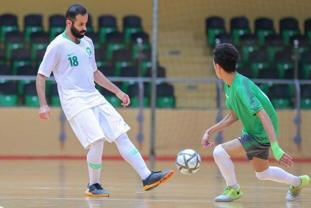پیروزی تیم ملی فوتسال عربستان در دیداری تدارکاتی