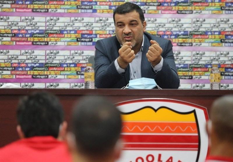 مدیرعامل شرکت فولاد خوزستان: بازیکنان روحیه جنگندگی شان را حفظ کرده اند ، توانایی پیروزی مقابل تراکتور وجود دارد