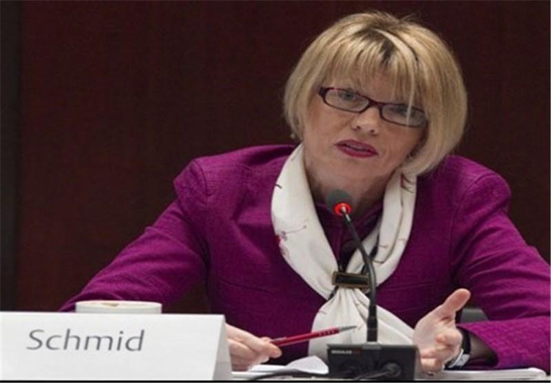 هلگا اشمید: آمریکا سال 2018 از برجام خارج شده و نمی تواند از مکانیزم ماشه استفاده کند