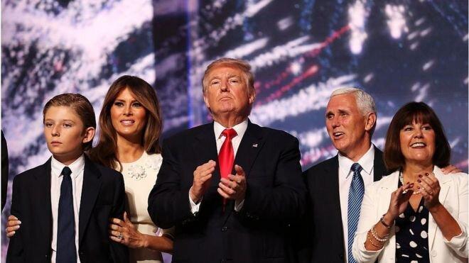 حزب جمهوری خواه رسما ترامپ را نامزد انتخابات کرد