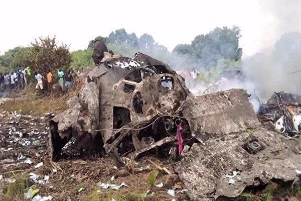 سقوط هواپیما در سودان جنوبی با 17 کشته