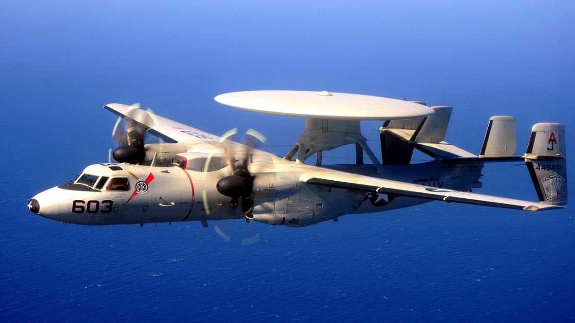 سقوط هواپیمای نیروی دریایی آمریکا
