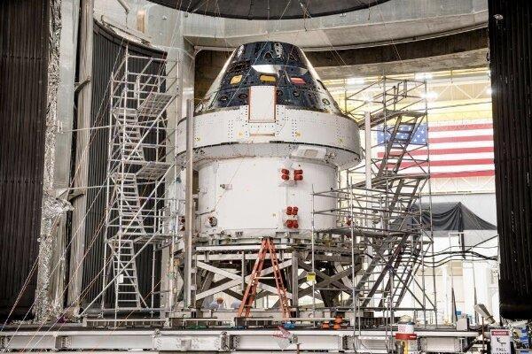 فضاپیمای اوریون 2021 آماده پرواز است