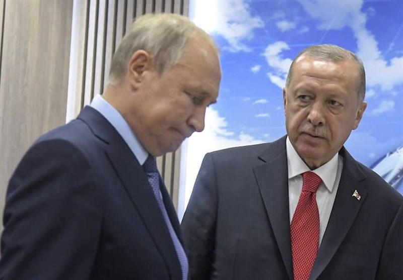 گفتگوی تلفنی پوتین و اردوغان درباره اوضاع قره باغ