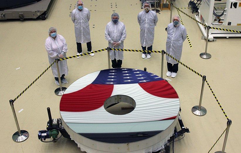 آینه اصلی تلسکوپ فضایی نانسی رومن کامل شد