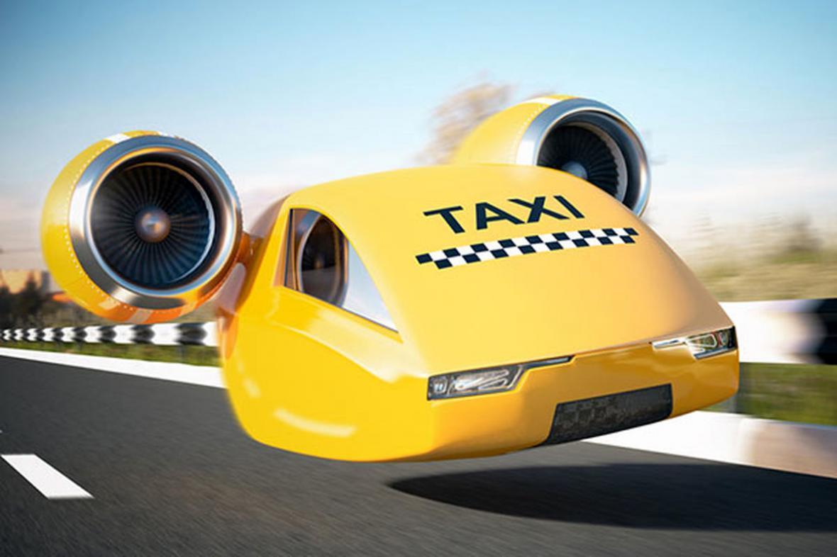 تاکسی های پرنده در آسمان ایران؟!