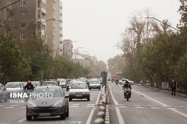 فراوری سالانه 91 هزار تن ترکیبات آلی فرار در شهر تهران