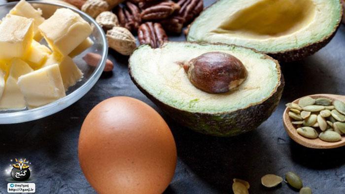 20 غذای چرب رایج که شما را چاق نمی نمایند