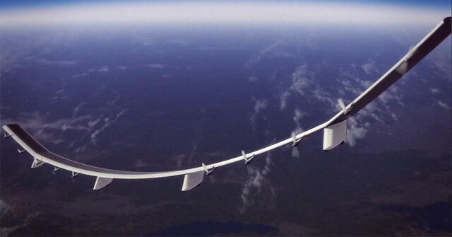 پخش اینترنت از ارتفاع 19 کیلومتری با پهپاد