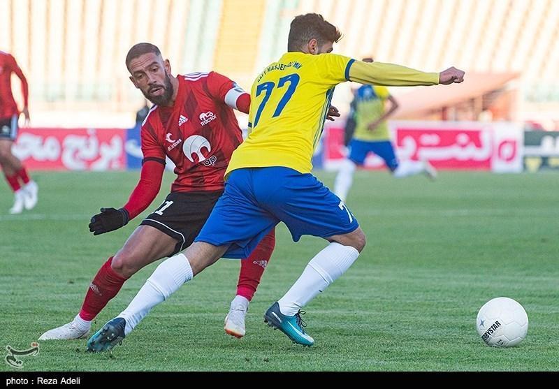 لیگ برتر فوتبال، تساوی یک نیمه ای تراکتور و نفت مسجدسلیمان