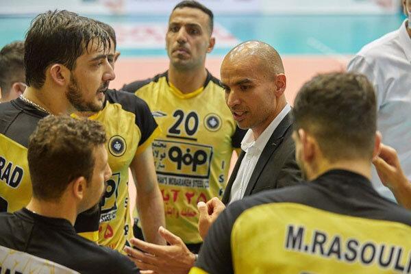 محمدی راد: بازی جذاب و دیدنی بود، با دفاع خوب نتیجه را تغییر دادیم