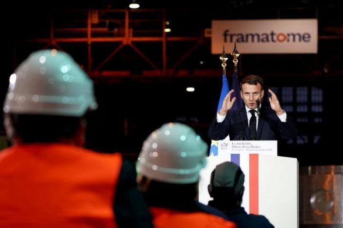 خبرنگاران مکرون: توان هسته&zwnjای مهمترین منبع تامین انرژی فرانسه می&zwnjماند